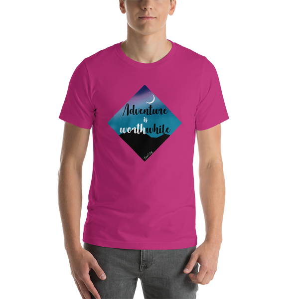 "Camisa T-shirt ""Adventure is worthwhile"""