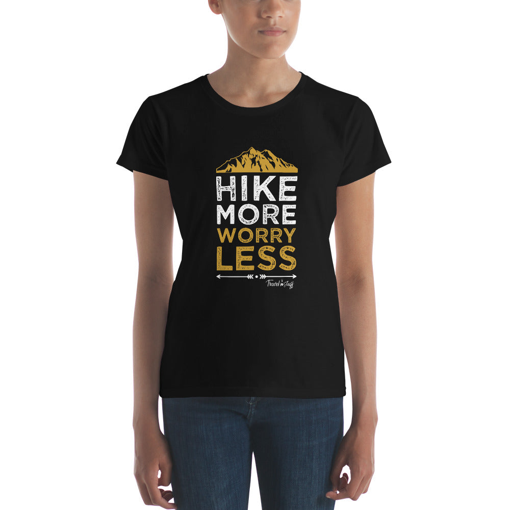 "Camisa Babylong ""Hike More Worry Less"" Woman"