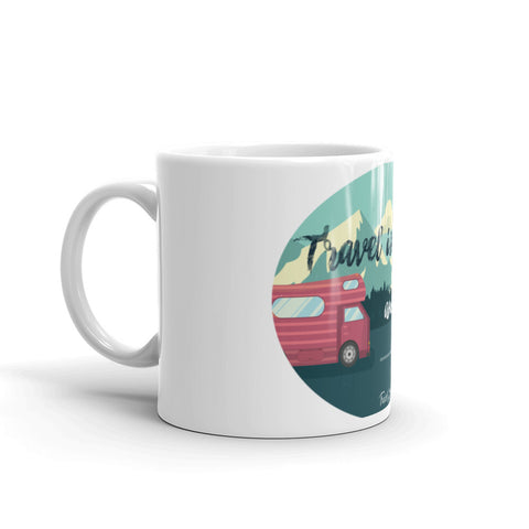 "Caneca Mug ""Travel is Calling"""