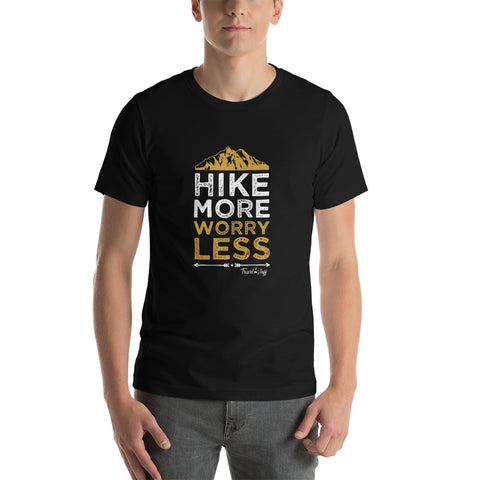"Camisa T-shirt ""Hike More Worry Less"""