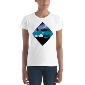 "Camisa Babylong ""Adventure is Worthwhile"" Woman"
