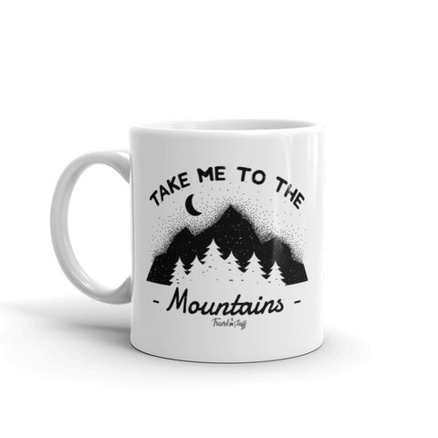 "Caneca Mug ""Take me to the Mountains"""