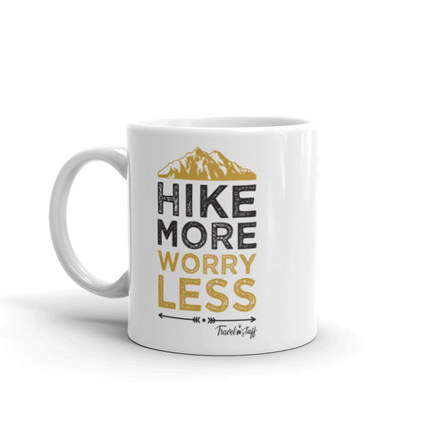 "Caneca Mug ""Hike More Worry Less"""
