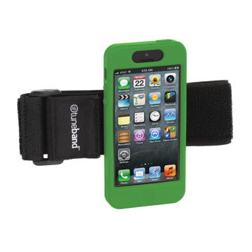 A comfortable, lightweight armband for the iPhone 5.