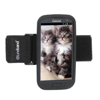 A comfortable, lightweight armband for the Samsung Galaxy S3.