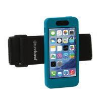 A comfortable, lightweight armband for the iPhone 5C.
