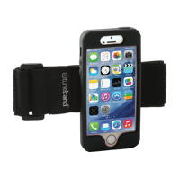 A comfortable, lightweight armband for the iPhone 5S/5SE.