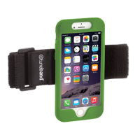 A comfortable, lightweight armband for the iPhone 6 / iPhone 6S.