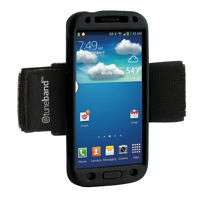 A comfortable, lightweight armband for the Samsung Galaxy S4.