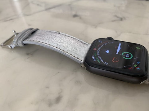 Mezando Apple Watch Armband in der Nahaufnahme