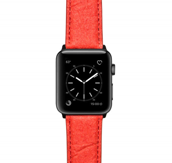 Apple Watch Armband Paprika Red