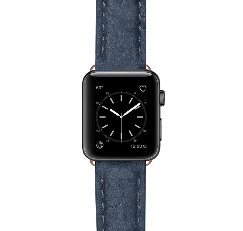 Apple Watch Armband Washed Indigo