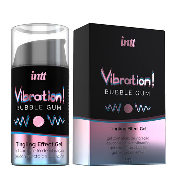 INTT Liquid Vibration Bubble Gum 15ml