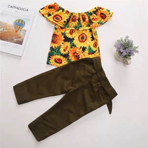 Sunflower Sweetie Set