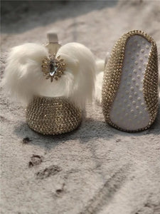 Custom infant ballerina shoes