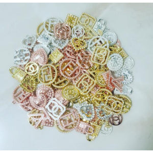 50pc charms