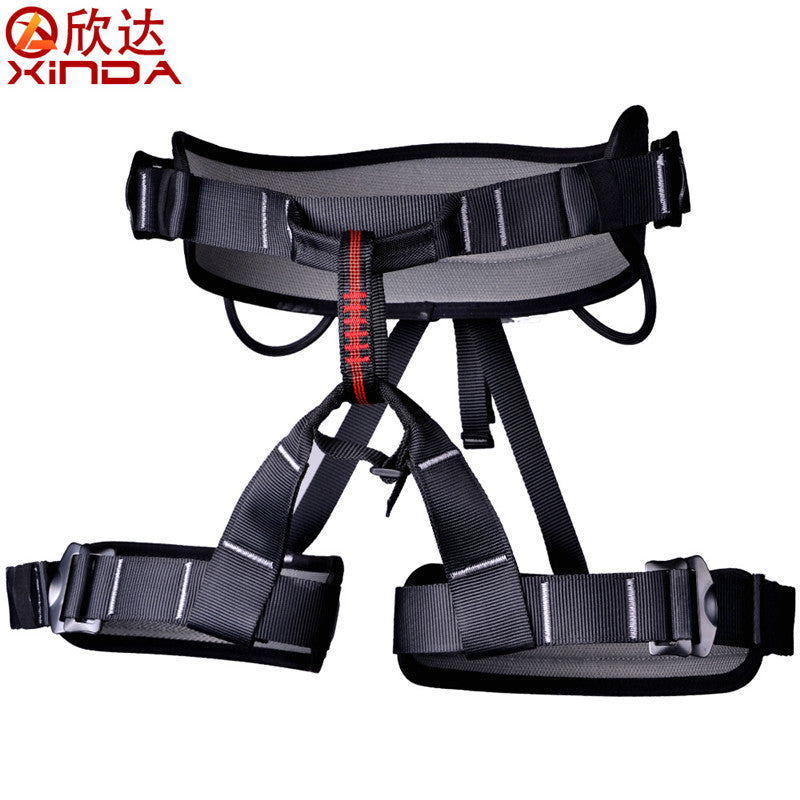 Half Body Safety Belt Harnesses For Rock Climbing