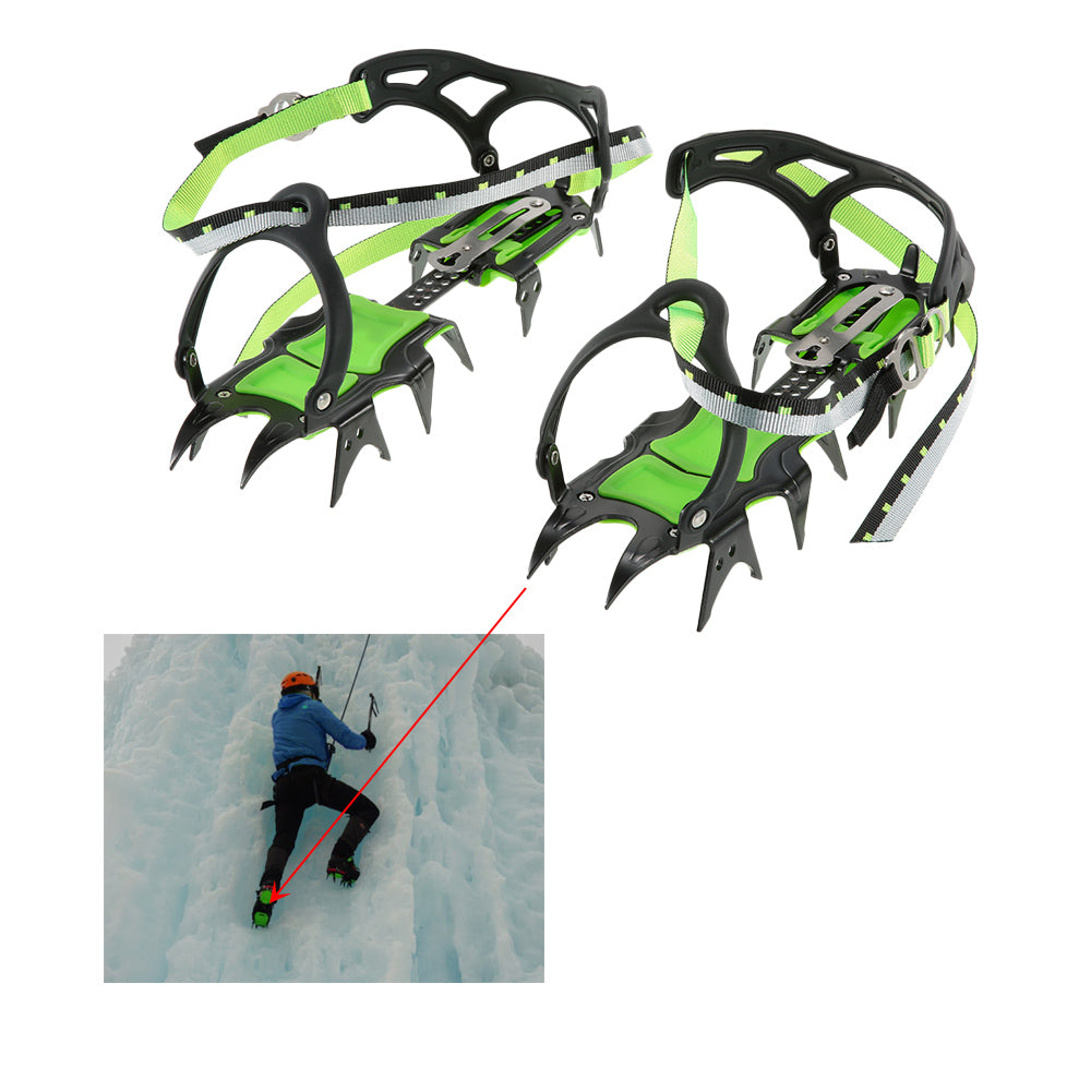 Professional Fourteen Teeth Ice Crampons