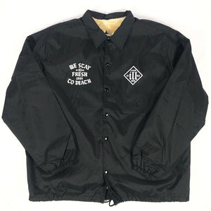 "Stillas ""STRICTLY 92"" Coach Jacket -BLACK-"