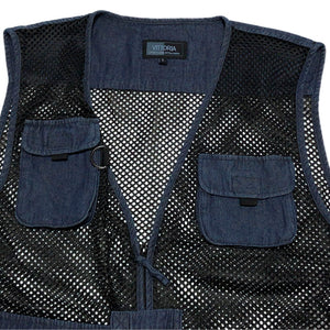 NO BRAND Denim Fishing Vest