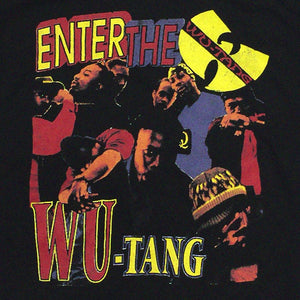 "Wu-Tang Clan""Enter the Wu-Tang""Vintage Style T-Shirt -BLACK-"