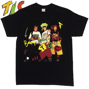 "【受注発注】TLC""Baby-Baby-Baby""T-Shirt -BLACK-"