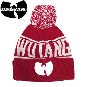 """WU-TANG CLAN""Beanie-RED-"