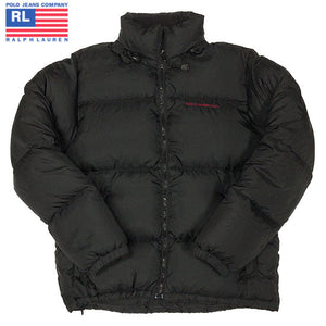 POLO JEANS RALPH LAUREN Down Jacket-BLACK-