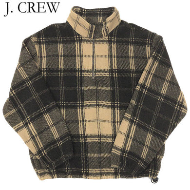 J.CREW P/O Fleece Jacket-BEIGE-