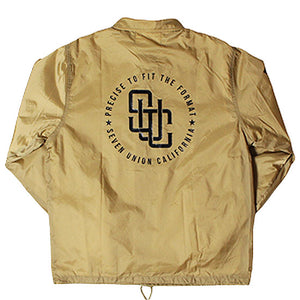 "7UNION""The Interpose""Coach Jacket-BEIGE-"