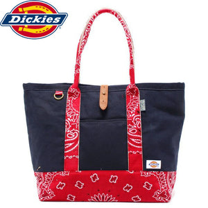 "Dickies""BANDANA""Tote Bag-NAVY-"