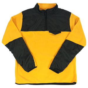 NO BRAND Fleece P/O Jacket -YELLOW-