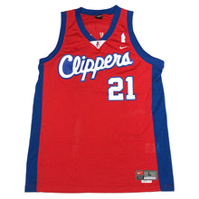 "画像をギャラリービューアに読み込む, NIKE ""Los Angeles Clippers"" Basketball Jersey-RED-"
