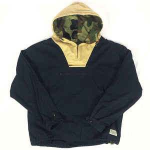 "7UNION ""Ultimate"" Anorak Jacket -NAVY×KHAKI-"