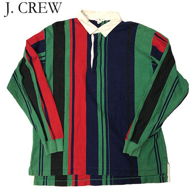 J.CREW L/S Rugger Shirt-MULTI-