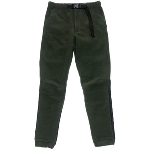 NO BRAND Fleece Pants -OLIVE-