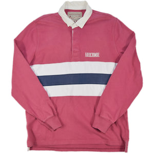 """Abercrombie & Fitch"" L/S Rugger Shirt -PINK-"