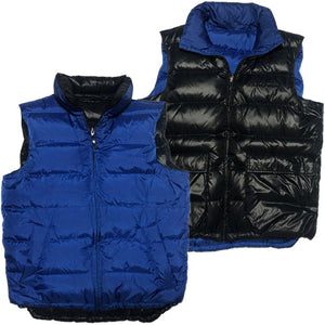 TOMMY HILFIGER Reversible  Down Vest -BLUE×BLACK-