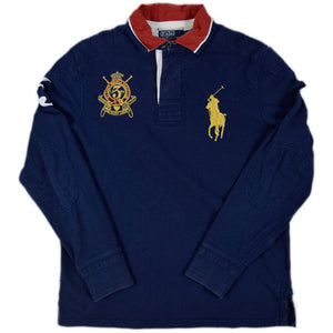 """POLO RALPH LAUREN"" L/S Rugger Shirt -NAVY-"