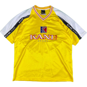 """KARL KANI SPORTS"" Football Game Shirt -YELLOW-"