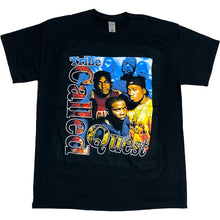 "画像をギャラリービューアに読み込む, ""A Tribe Called Quest"" Vintage Style T-Shirt -BLACK-"
