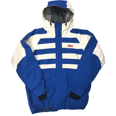 HELLY HANSEN Nylon Jacket-BLUE×WHITE-