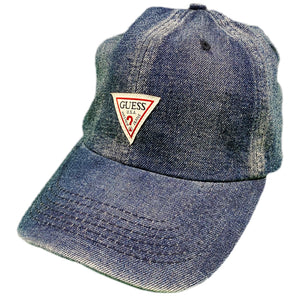 "GUESS ""TRIANGLE"" Dad Hat -DENIM-"