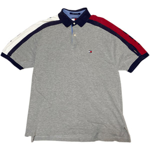 """TOMMY HILFIGER"" S/S Polo Shirt -GREY-"