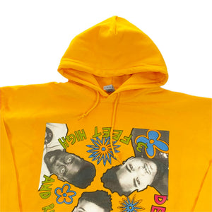 "De La Soul ""3 Feet High And Rising"" Cover Art P/O Hoodie -YELLOW-"