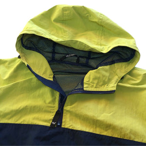 "HELLY HANSEN ""NAVAL GEAR"" Anorak Jacket -YELLOW GREEN×NAVY-"