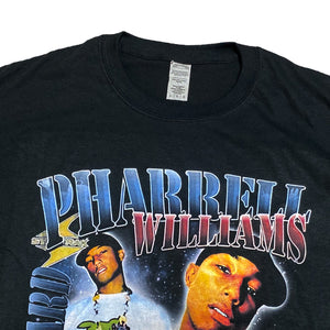 """Pharrell Williams"" Vintage Style T-Shirt -BLACK-"