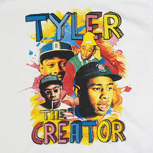 """Tyler The Creator"" Vintage Style T-Shirt -WHITE-"