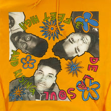 "画像をギャラリービューアに読み込む, De La Soul ""3 Feet High And Rising"" Cover Art P/O Hoodie -YELLOW-"
