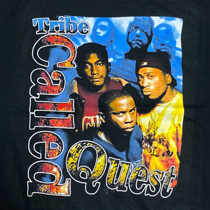 """A Tribe Called Quest"" Vintage Style T-Shirt -BLACK-"